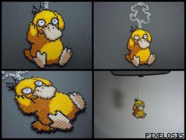 Psyduck Car Charm by Pixelosis