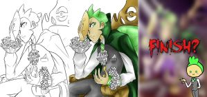 Cilan goes Halloween making by Marini4