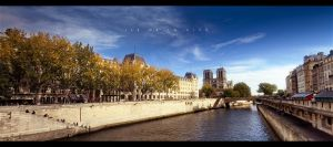 Ile de la Cite by geckokid