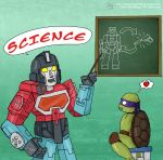 Transformers 30-15, SCIENCE! by Demonology7789