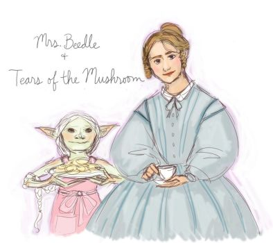 Mrs Beedle and Tears of the Mushroom by mjOboe