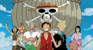 one piece straw hat crew by HollowIchigoBanki