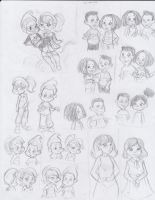Jimmy Neutron Sketches by Lacedra