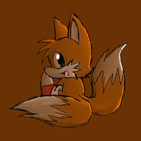 Tails Coloring Practice by BlazingLillyArtz