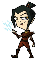 Azula the Homicidal Maniac by Booter-Freak