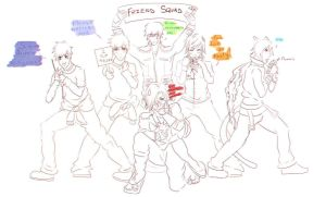 Friend-Zone Squad! by NyteRain
