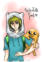 Adventure Time?! by Reintastic