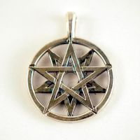Silver Decagram by Kittenpants