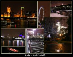 London by night by Ironicph8