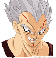DBGT Baby Vegeta Form 1 Paint by Esperino