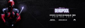 Deadpool - 2014 Teaser Movie Banner by CrustyDog