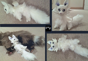 (other views) Ammy the Fox by AmethystCreatures