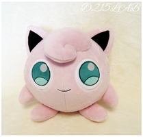Jigglypuff Plush by d215lab