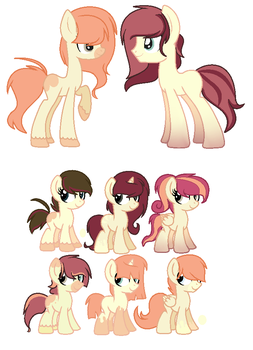 Breeding adopts -OPEN- 1 by Sunnyheart705