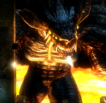 Dragon God Demons souls by Freedomplayer1