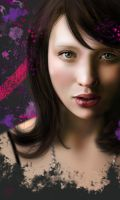 Emily Browning Painting by PhotonLights