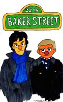 Can You Tell Me How To Get To Baker Street (Front) by pennswoods