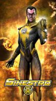 Sinestro Injustice Gods Among Us (logo) by JPGraphic