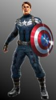Steve Rogers: Agent of Shield by MentalLoss