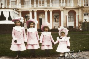 Little Grand Duchesses by Livadialilacs