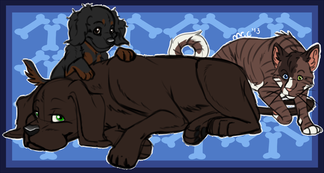 House Pets by DasChocolate