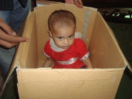 Child in Box by hiaamir