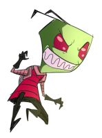 The Invader Zim by ManiacPaint