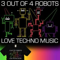 Some Robots Hate Techno by graffd02