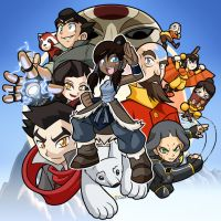 The Legend of Korra by rongs1234