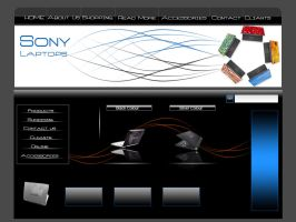 Dummy Web of Sonay laptop by saadsweet