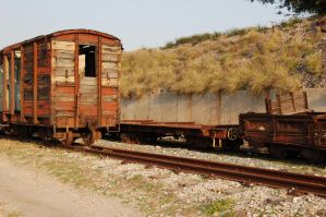 Old Railway Stock 4 by Storms-Stock