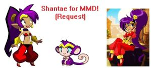 MMD Shantae Model Request (Reupload) by EpicN