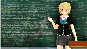 J-Rock Class Homework by Rozz-a