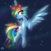 Rainbow Dash by Neko-Snicker