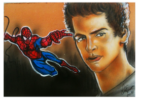 Amazing Spiderman psc by chrisfurguson