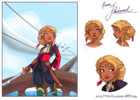Arina - Character Concept by The-Ez