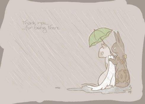 For Being There by trufflesr