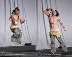 The Croods Guy Cosplay Masquerade by kh2kid