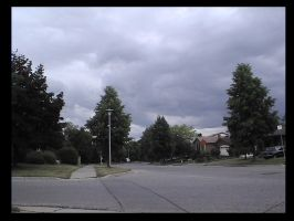 Storm in Suburbs by memphius