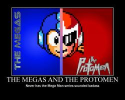 The Megas/The Protomen Motivational by MadnessAbe