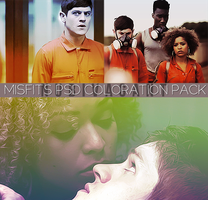Misfits psd coloration pack by pandaisia