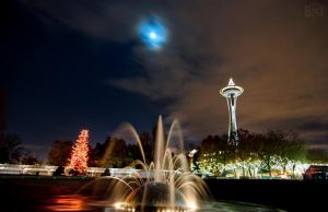 Winter at the Needle by BFOPhotography