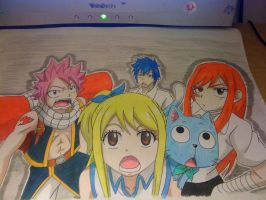 Strongest Team in Fairy Tail by Karina-o-e