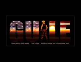 Guile Logo :Road To Victory by DTokarz