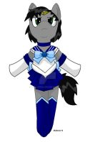 MERCURY sailor moon costume on my mlp fim OC by Mallinda