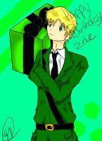 GIFT: Happy Birthday Zeke by MoonofTheGothicJinks