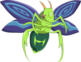 Perfectly Ultimate Great Moth by Louisetheanimator
