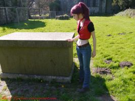 Examining a grave by MasterCyclonis1