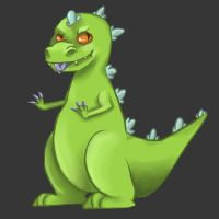 Reptar by ChocolateCereal