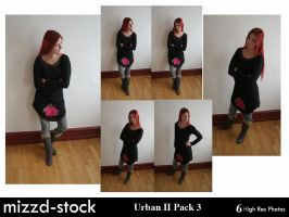 Urban Series II Pack 3 by mizzd-stock